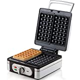 Domo DO 9047W Waffelautomat für extra dicke quadratische belgische/brüsseler Waffeln