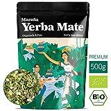 Maraña Yerba Mate Tee Bio Grün 500g lose Matetee-Blätter Premium-Qualität No.1 Energy Drink Südamerika Koffein